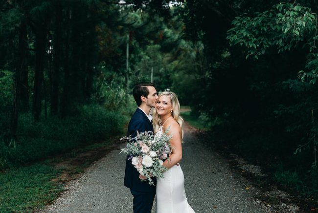 Real Enchanted Garden Wedding Kelly Steve: Tweed Coast Wedding Venue