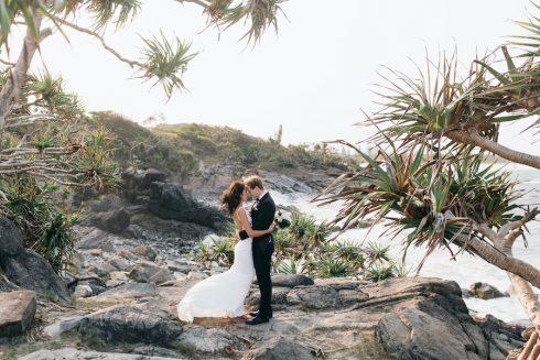 coastal wedding photos