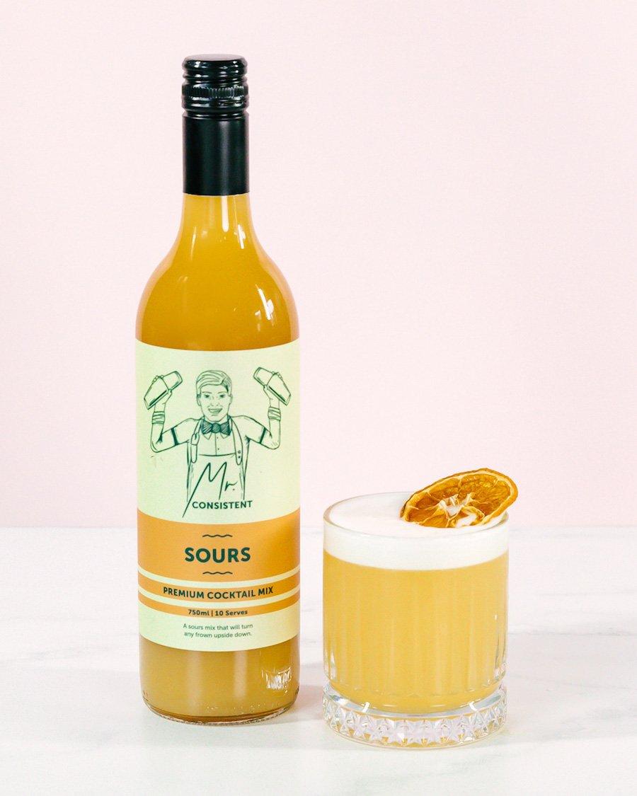 Mr Consistent sours cocktail mixer