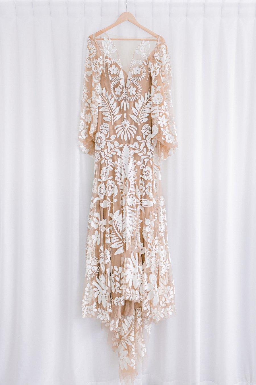 rue de sain wedding dress